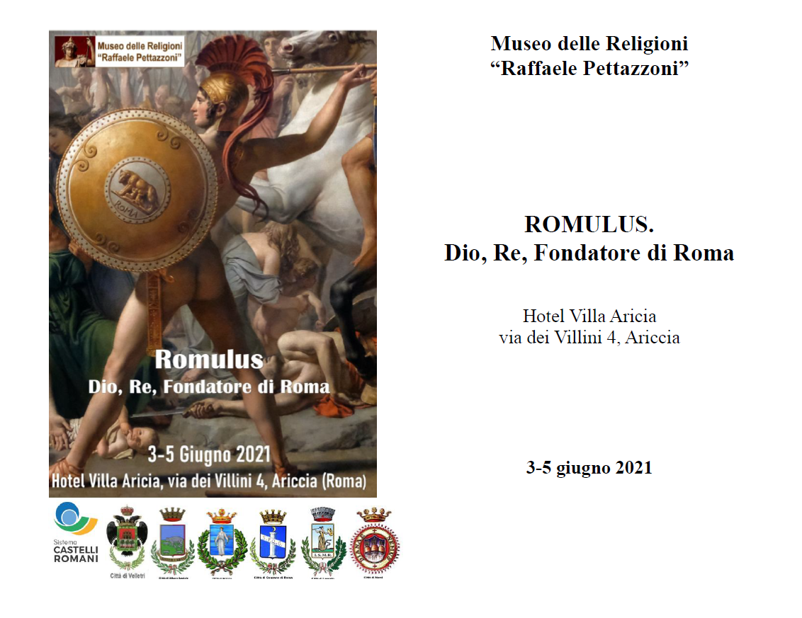 Romulus. Dio, Re, Fondatore di Roma