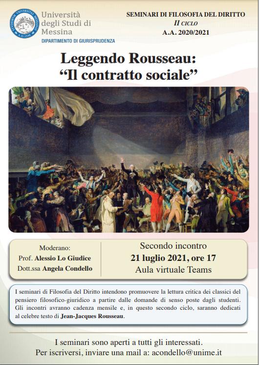 """Leggendo Rousseau: """"Il contratto sociale"""""""